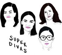 Super Divas Illustration