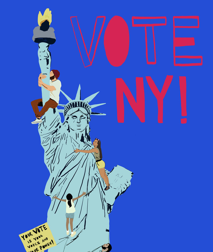 Vote NYC Link Design Competition
