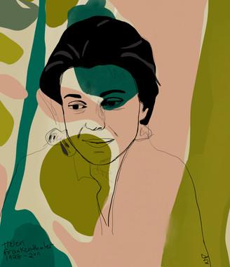 Museum Series -  Helen Frankenthaler