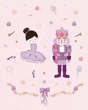 Ballerina & Soldier - Nutcracker