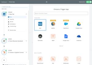 Resume parser Box to Hubspot