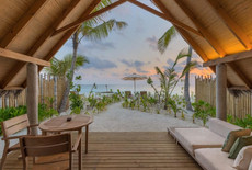 Beach Villa Sunset