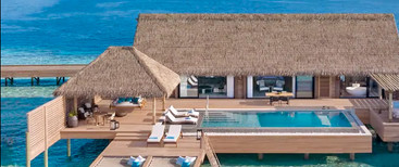 King Overwater Villa With Pool