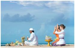 巴厘島的靈魂淨化儀式