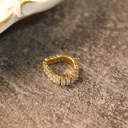 Zircon Ring 925 Sterling Silver
