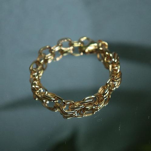 Chain Link Bracelet 925 Sterling Silver
