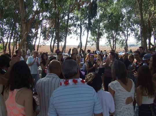 די. ג'יי לחתונה בטבע.JPG