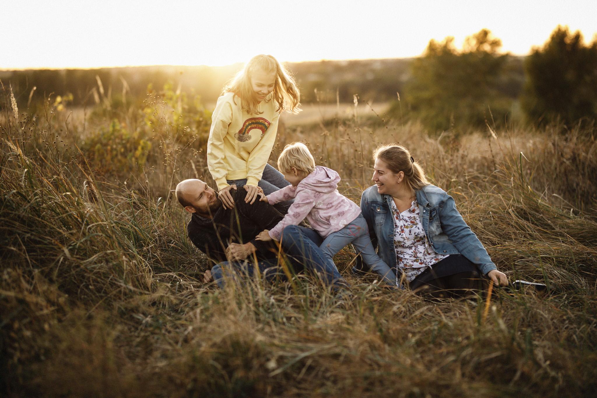 rodinný fotograf