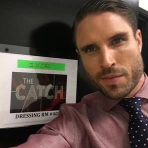 James O'Halloran cast as 'Ivor' in 'The Catch'