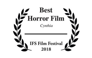 Cynthia wins 'Best Horror Film' at IFS Film Festival