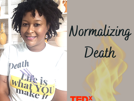 Normalizing Death with Ashley Johnson; An interview with  Marla Bautista