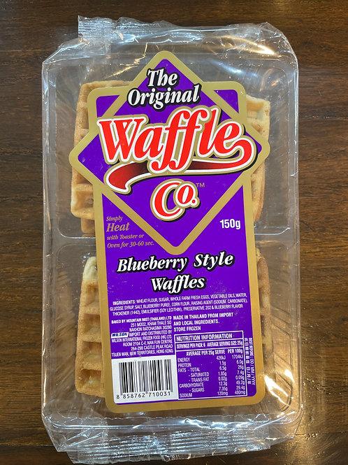 泰國 The Original Waffles Co. 藍莓窩夫格餅(6片裝)