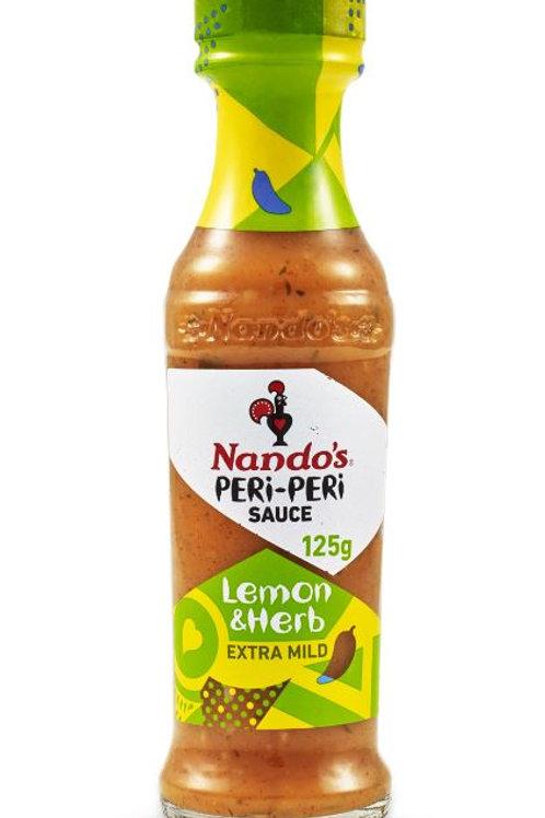 英國 Nando's 檸檬香草辣椒醬 125ml
