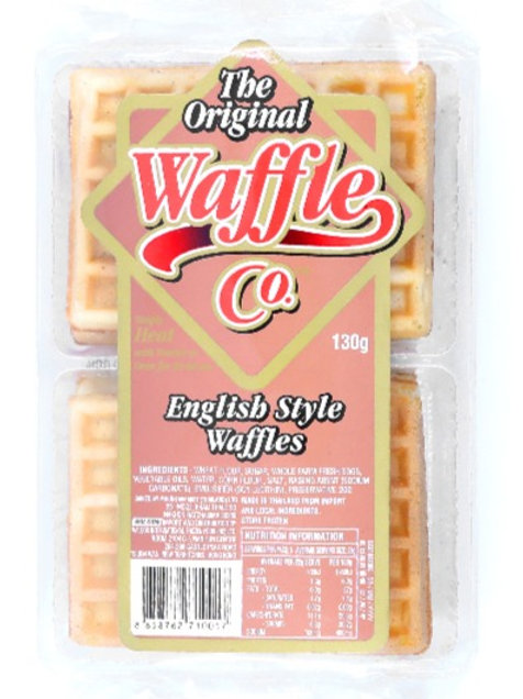 泰國 The Original Waffle Co. 英式窩夫格餅(6片裝