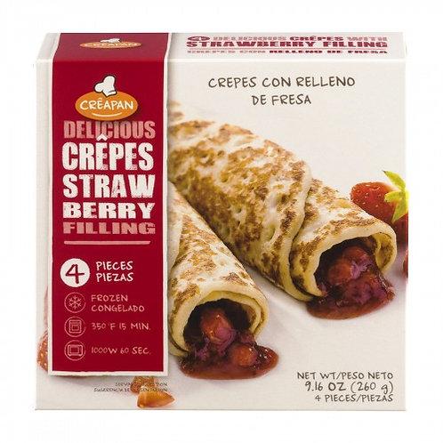 比利時 Creapan 士多啤梨薄餅卷 (260g)