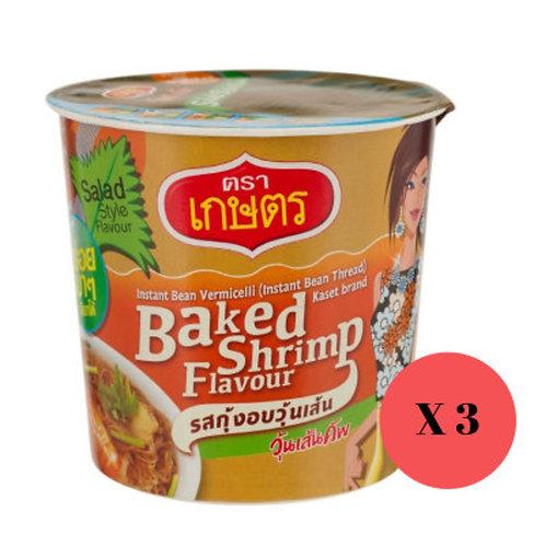 Kaset 泰國製即食粉絲 (3杯裝)