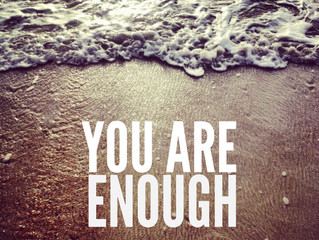You Are Enough - Guest Post!