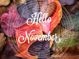 Top 5 Tips for an Healthy, Happy, Nourishing November