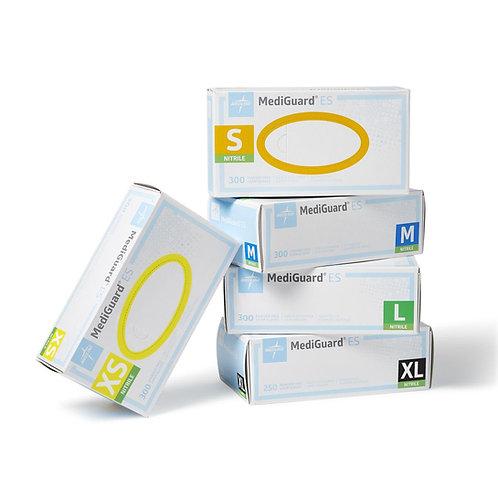 Mediguard Nitrile, Powder-free exam gloves (300 per box)
