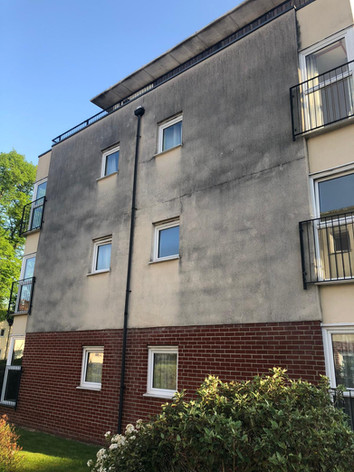 Cheshire render cleaning