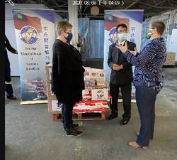 2020.08 開普敦台商會與駐開普敦台北辦事處共同捐贈物資