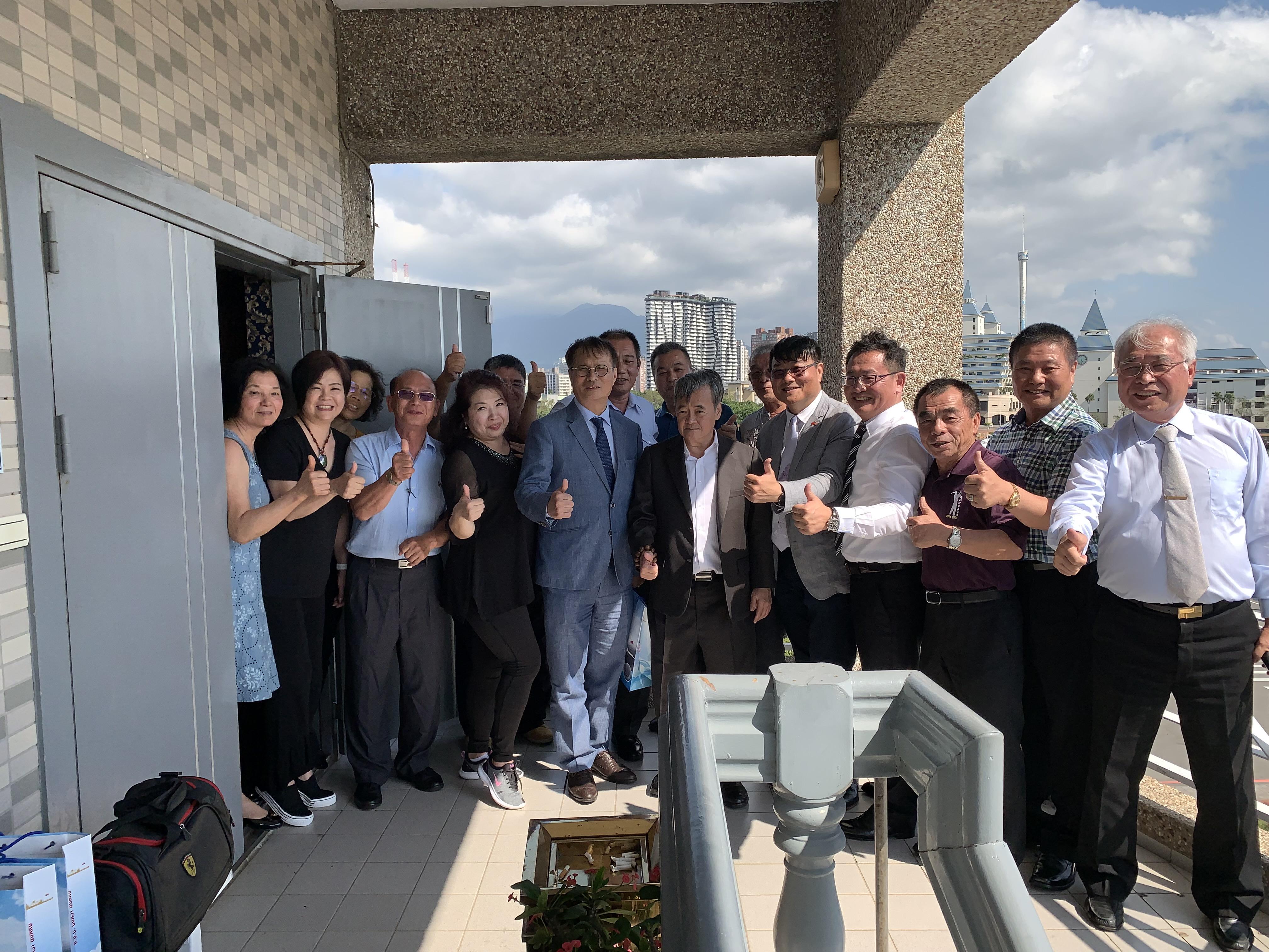 2019.10.08 宴請返台參加國慶台商會先進