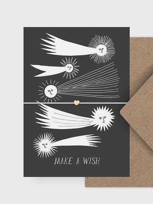 "Armband ""Make a Wish"" mit Postkarte"