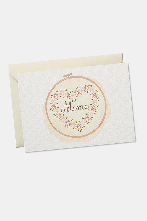 """Grußkarte """"Mama"""""""