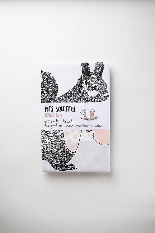 """Küchentuch """"Coco the Squirrel"""""""