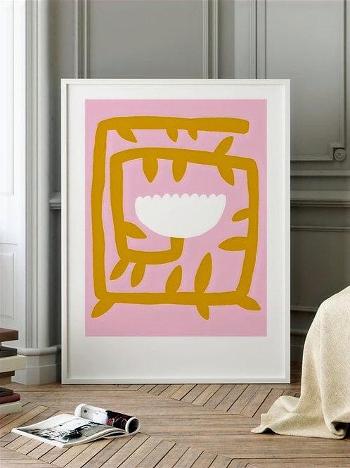 "Art Print ""Flowery No. 9"" (A4)"