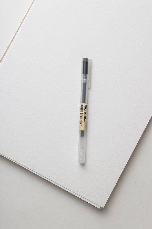 Muji Gel Stift Gr. 05 (schwarz)