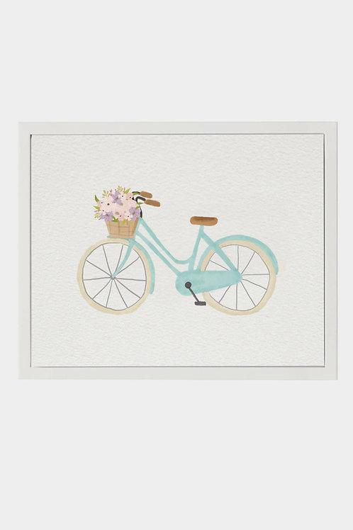 "Art Print ""Flower Bike"" (A3)"