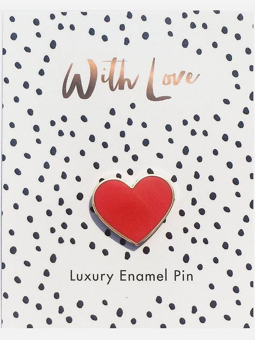 """Enamel Pin """"Heart"""""""