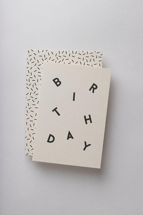 "Grußkarte ""Birthday Scatter"""