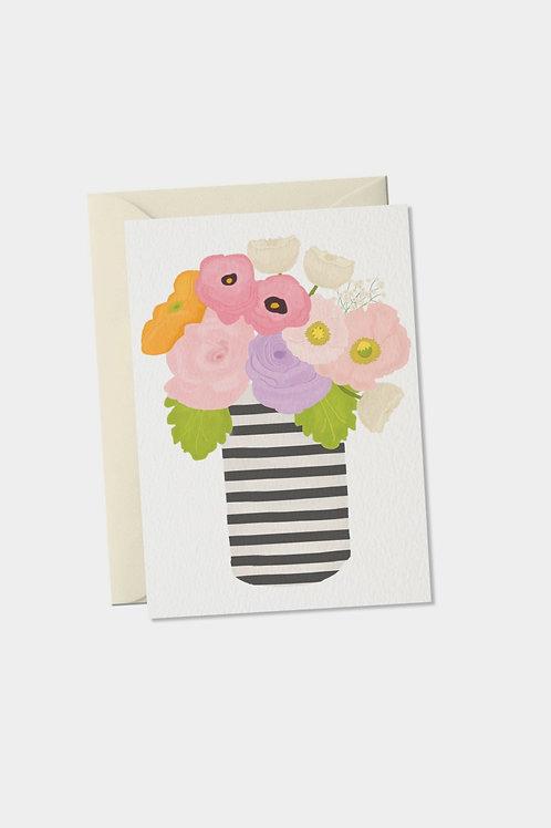 """Grußkarte """"Blumen"""""""