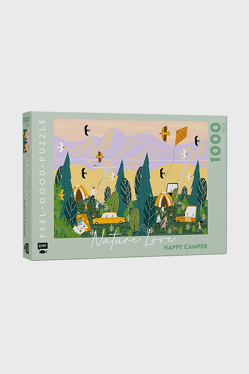 Feel good Puzzle - NATURE LOVE: Happy Camper