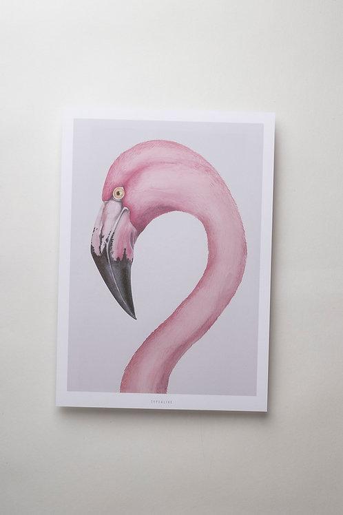 """Art Print """"Flamingo"""" (A4)"""