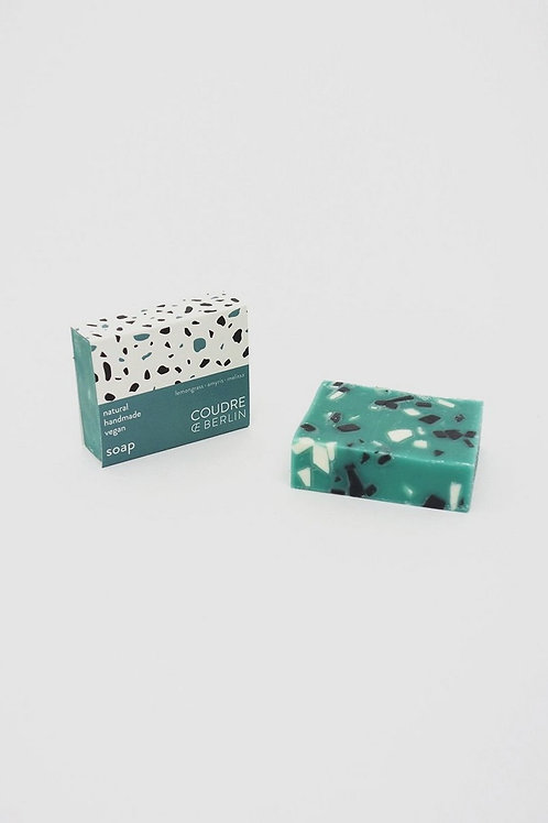 "Handcrafted natural Soap Bar ""greenstone"""