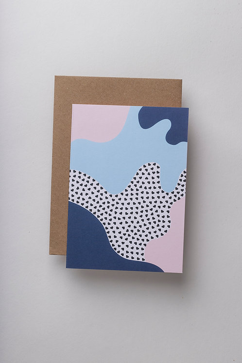 "Grußkarte ""Le Grande Amour"""