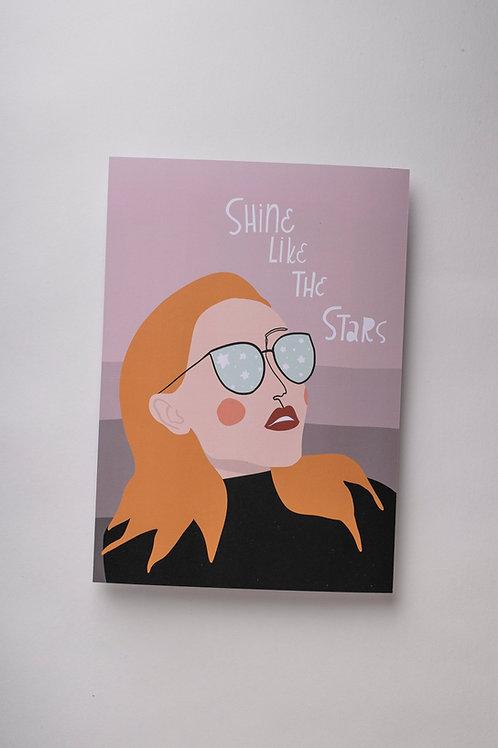 "*SALE* Art Print ""Shine like the stars"""