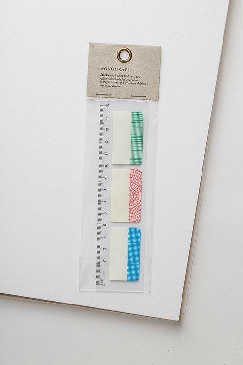 Sticker & Lineal (2 in 1)