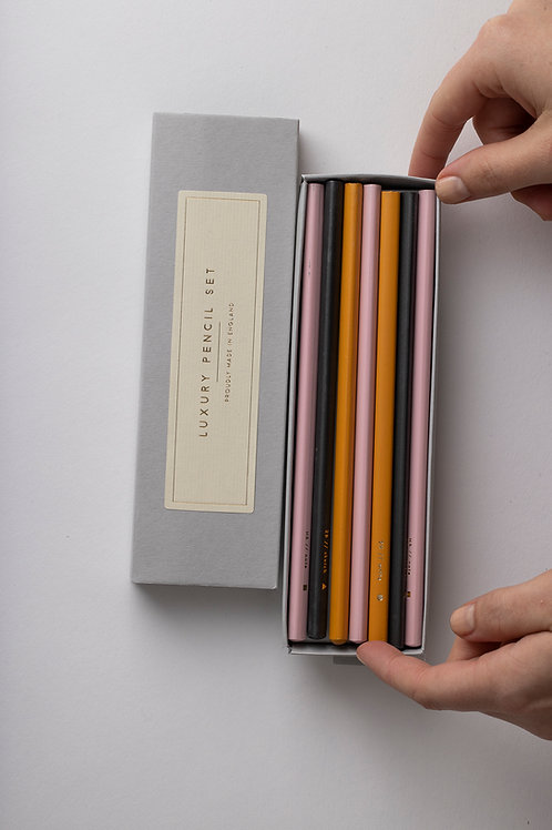 "Luxury Pencil Set ""Assorted"""
