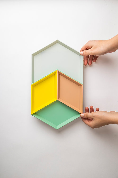 "Desk Organizer ""Geometrik"" (4-teilig)"