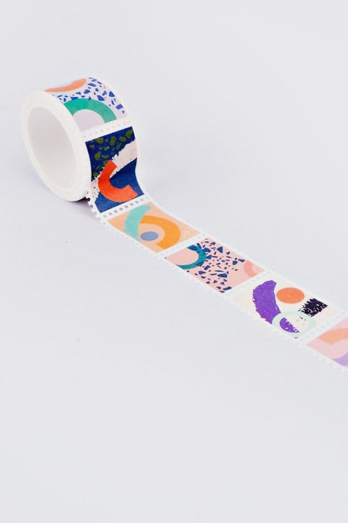"Stamp Washi Tape ""Memphis Brush"""