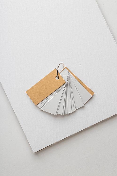 Muji Note Cards