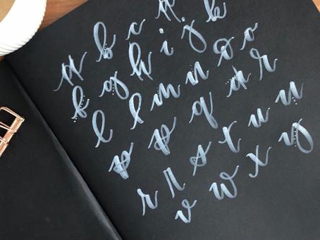 Das Lettering Alphabet