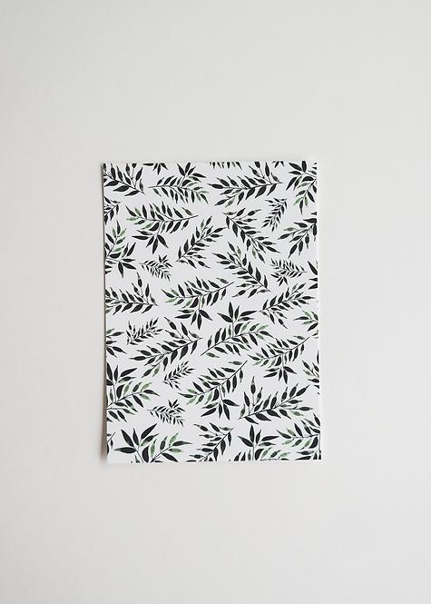 """Card """"Seamless Greenery"""""""
