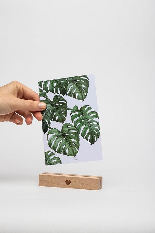 Kartenhalter 10,5 cm (natur)