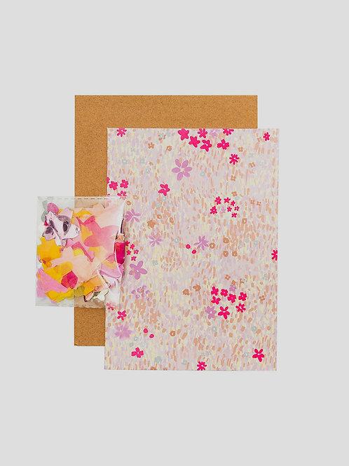 """DIY Grußkarten Set """"Blumenwiese"""""""