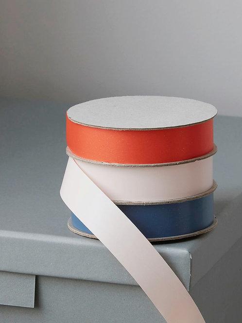 Geschenkbänder (light pink, dark blue, orange)
